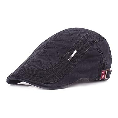 100% Cotton Men Gatsby Cap Newsboy Ivy Hat Vintage Gorras Casquette Women Unisex Beret Cabbie