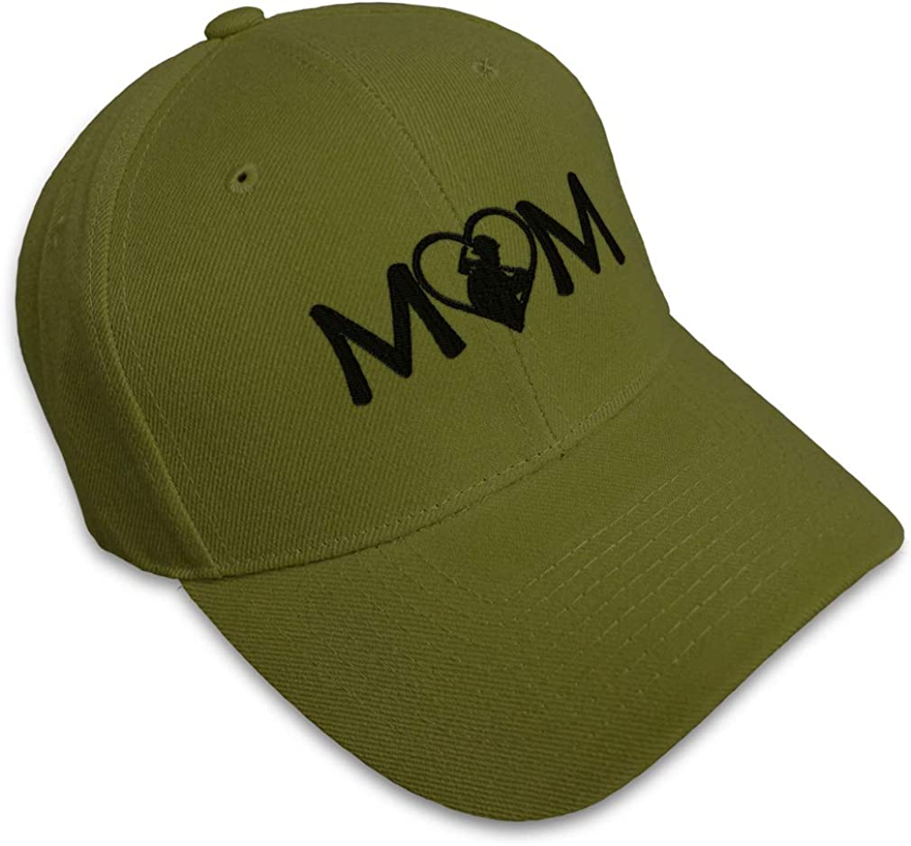 Custom Baseball Cap Firefighter Mom Style A Embroidery Dad Hats for Men /& Women