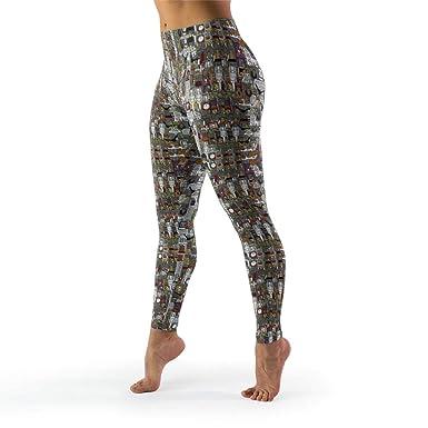 HoCaXn-Leggings Mallas de Yoga para Adolescentes, cómodas ...