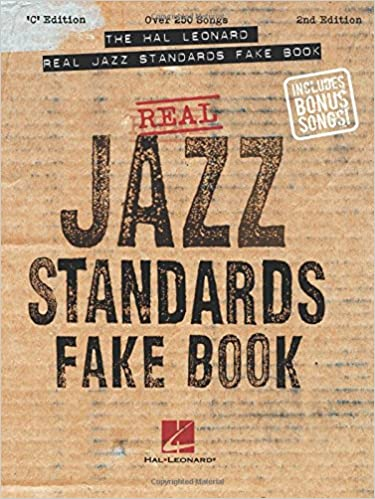 The hal leonard real jazz standards fake book c edition fake books the hal leonard real jazz standards fake book c edition fake books hal leonard corp 9780634021558 amazon books fandeluxe Gallery