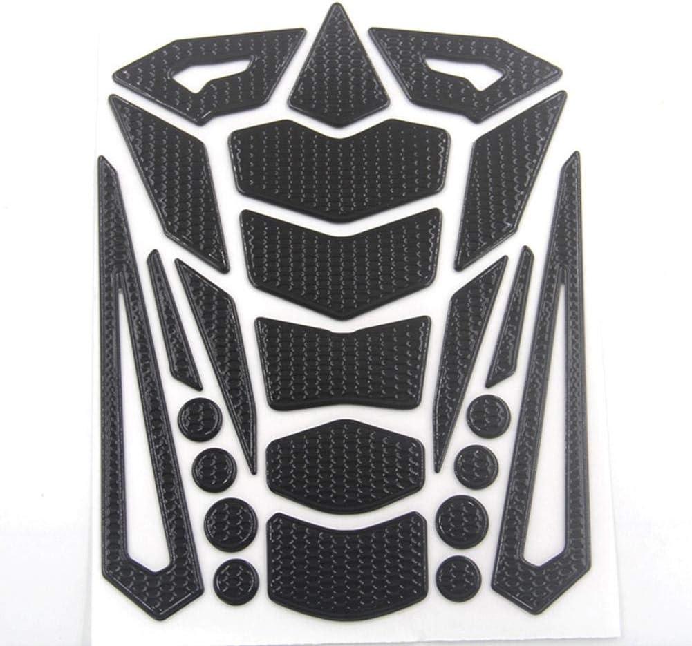 Protecci/ón para dep/ósito Seasaleshop 3D Pegatinas Combustible de Dep/ósito Moto Universal Aplicable a Honda Mirage Suzuki Kawasaki Huanglong