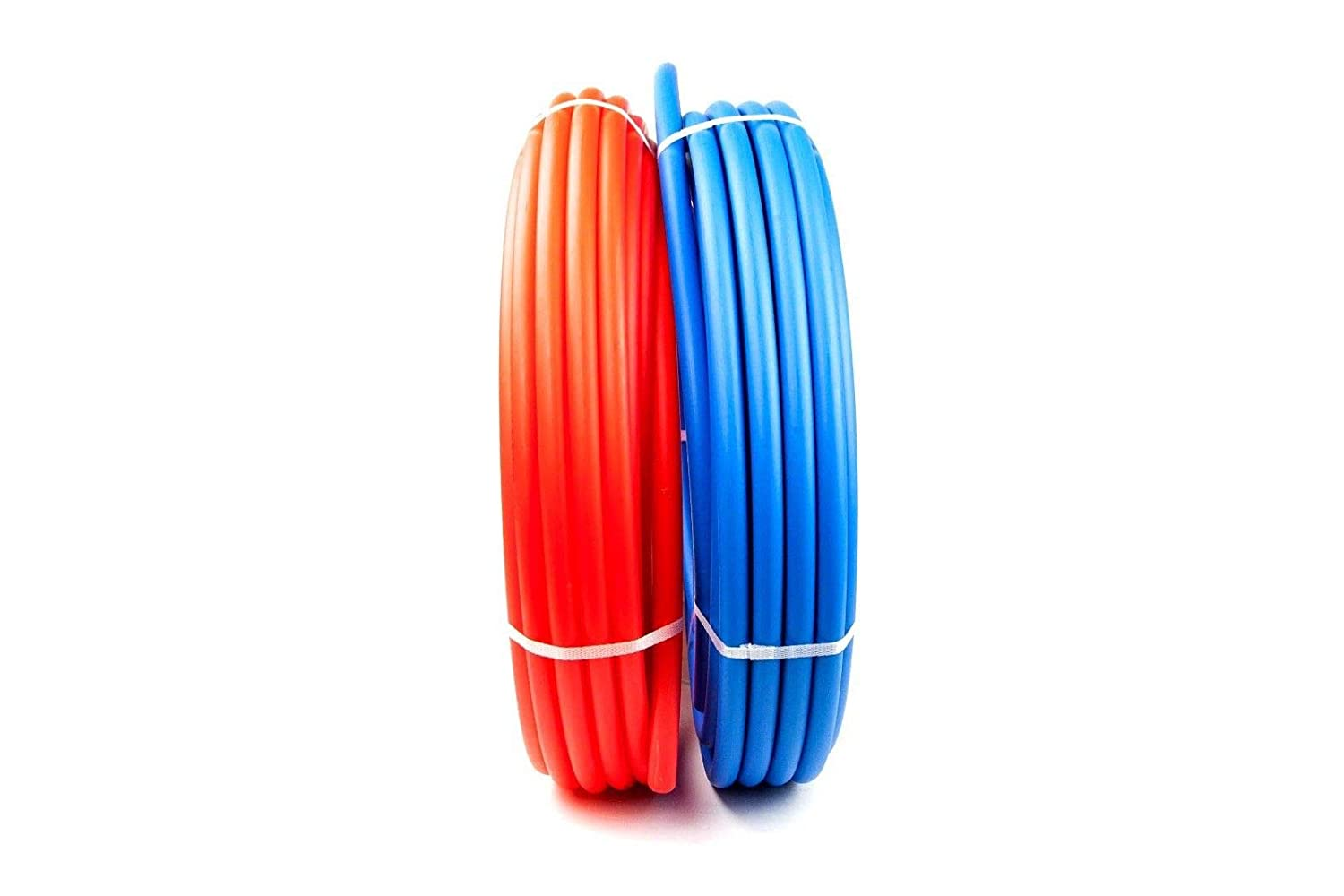 PEX Tubing B Pipe 1//2 300 Feet Red 300 Blue Water Polyethylene Flexible Pipes Non Oxygen Barrier Potable Tubes Hot Cold PEX-B Expandable Plastic 1//2 Inch Crimp Hose Free Cutting Crimping Tool