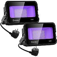 Onforu 2X 50W Luz Negra, Luz UV