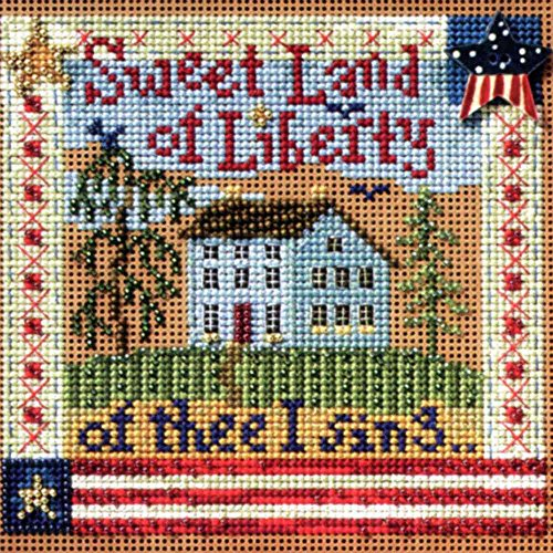 (Sweet Liberty Cross Stitch Kit )