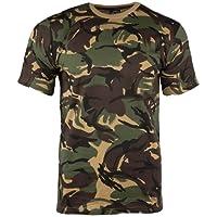 Mil-Tec - T-shirt - Homme British Woodland DPM
