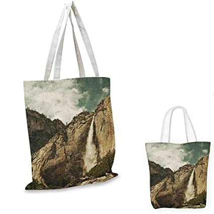 35dbc9427cfc Amazon.com: Yosemite shopping tote bag Waterfalls in Yosemite ...