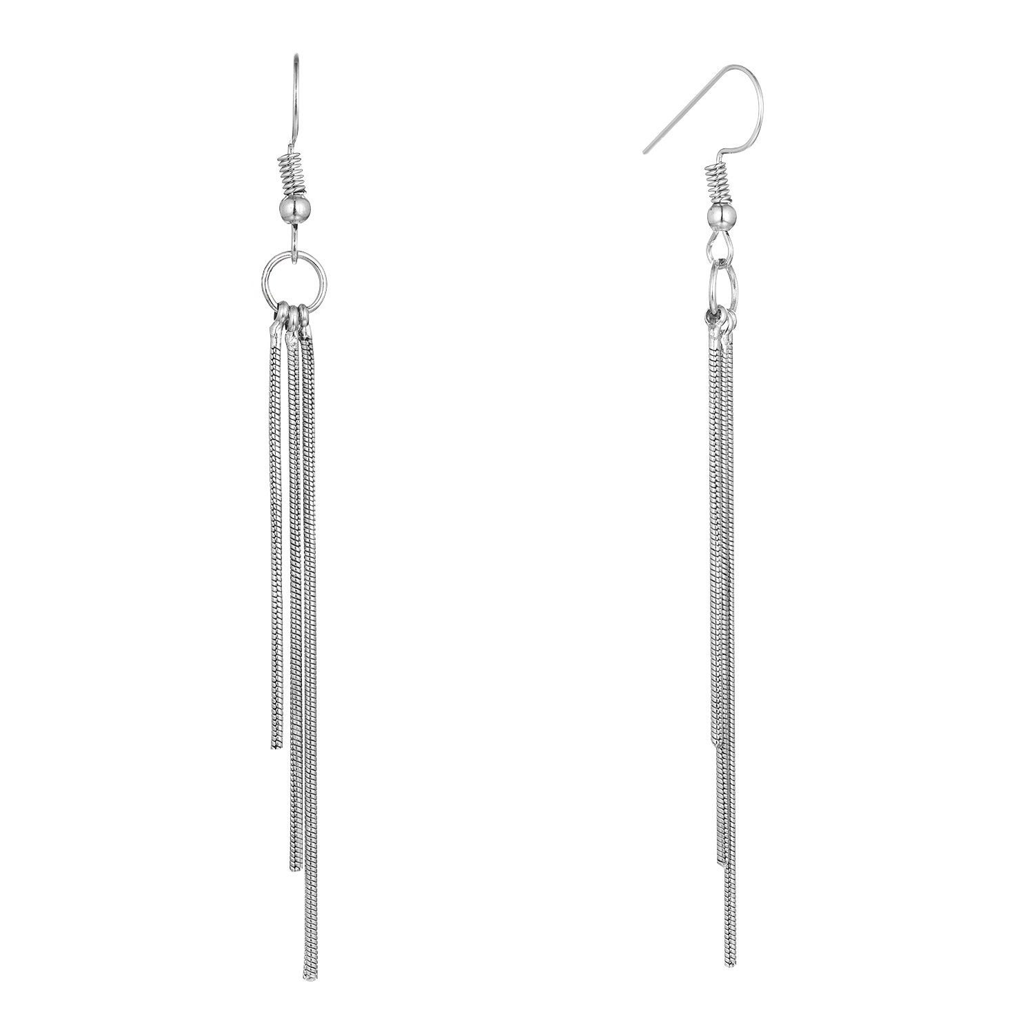 Starchenie Tassel Earrings for Women,Girls Dangle Earrings Line Drop Earrings
