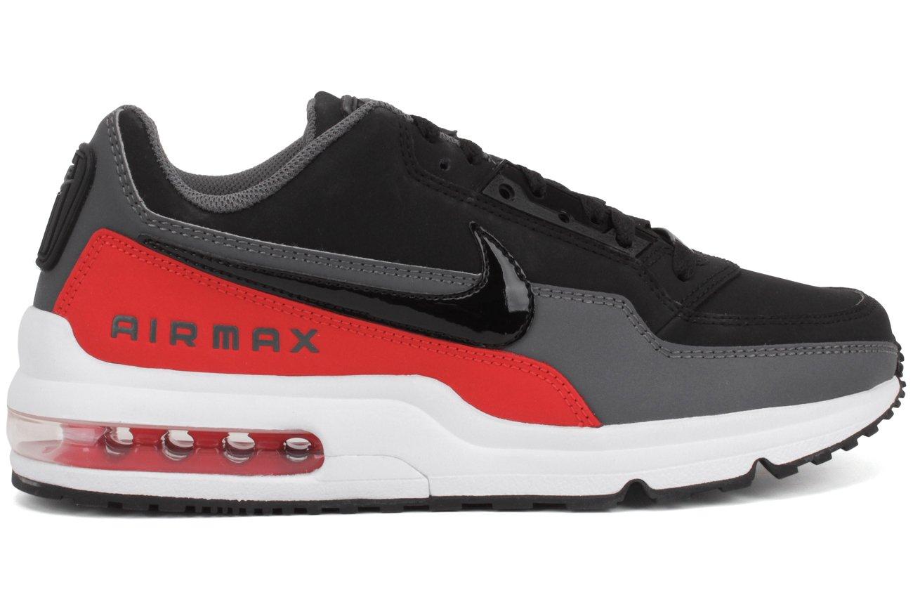 El precio más bajo Nike Hombre Air Max LTD 3 Zapatos para correr Negro/Negro-dark Gris-challenge Rojo 540BU