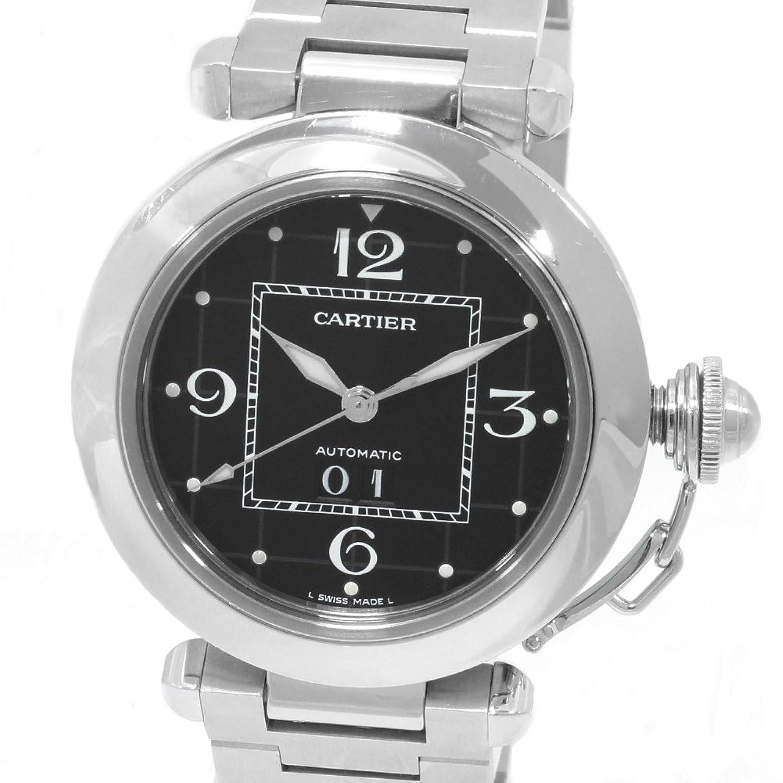 [カルティエ]Cartier 腕時計 パシャC ビッグデイト自動巻き W31053M7 ユニセックス 中古 B07FCD3K3Q