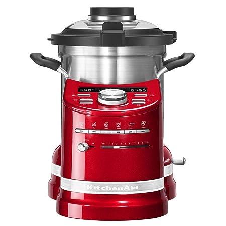 KitchenAid 5KCF0104 4,5 L Rojo 1500 W - Robots de cocina (4,5 L ...