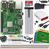 Viaboot Raspberry Pi 3 B+ Ultimate Kit — Official 16B MicroSD Card, Official Raspberry Pi Foundation Red/White Case Edition