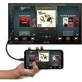 """Central multimídia MP5 2 DIN 7"""" USB/SD CARD/AUX/BT Espelhamento Full Touch H-Tech 2395HT-3020"""