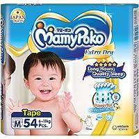 MamyPoko Extra Dry Tape M54, 54 count