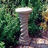Stone Statue Plinth - Roman Column Pedestal