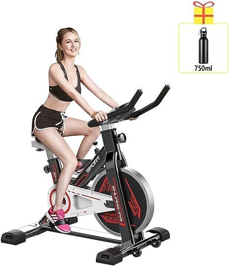 YUHT Bicicleta estática para el hogar, ultra silenciosa, pedal ...