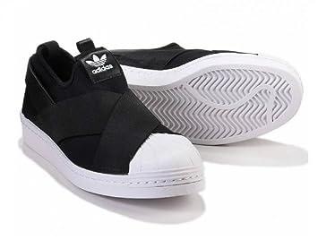 3d45a377611ec adidas (アディダス) オリジナルス スーパースター スリッポン Superstar slip on ブラック (24cm)