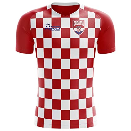 Amazon.com   Airo Sportswear 2018-2019 Croatia Flag Concept Football ... 89af8e883