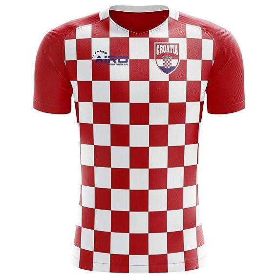 0f7d10f10 Amazon.com   Airosportswear 2018-2019 Croatia Flag Concept Football Soccer  T-Shirt Jersey (Ivan Rakitic 7) - Kids   Sports   Outdoors