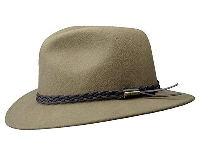 Stetson Newark Wool Vitafelt Fedora Hat at Amazon Men s Clothing store  bd4b27010421