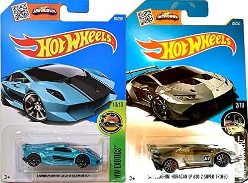 Mua Lamborghini Sesto Elemento Hotwheels Tren Amazon Chinh Hang Gia