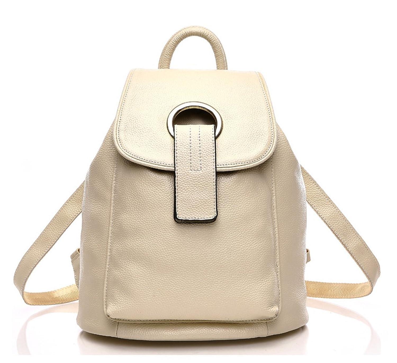 Keshi Leather Cute Backpack Bag, Fashion Cute Lightweight Backpacks for Teen Young Girls