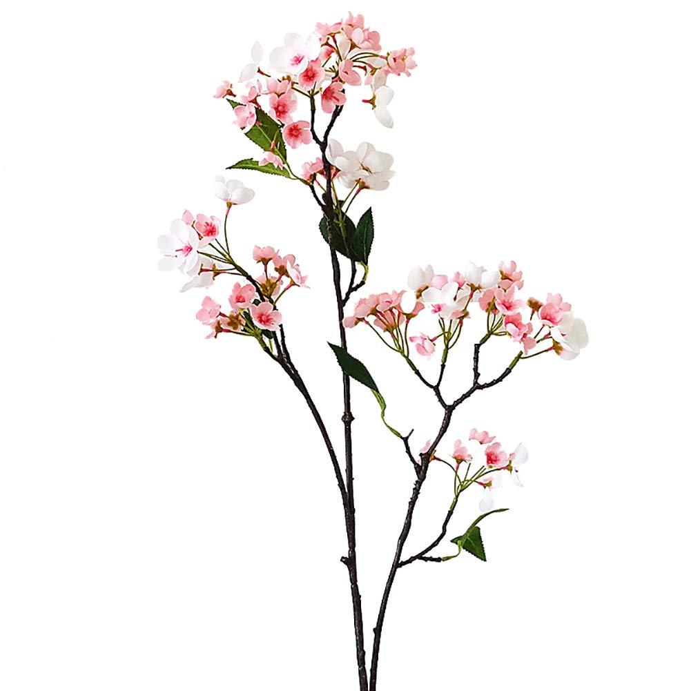 qiguch66 装飾用造花 ロマンチックな造花 アップルフラワー DIY ガーデンステージ ウェディングパーティー装飾 ホワイト qiguch66 0301 B07P6ZR9KF ライトピンク