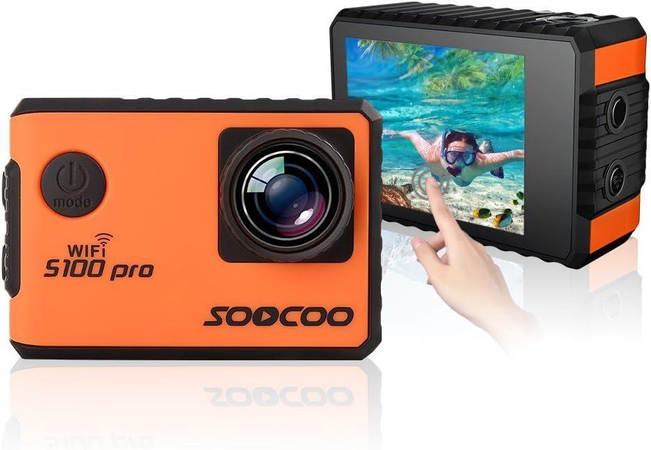 4 K Wifi Sport Action Camera Soocoo Waterproof Sports Camera Photo