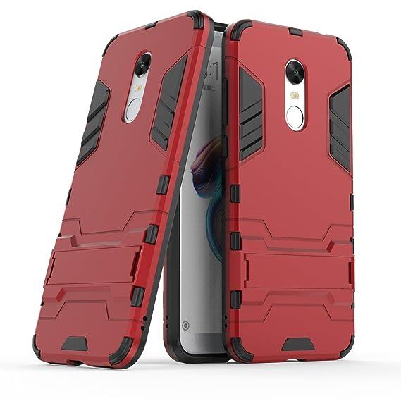 release date f955b 6a716 Amazon.com: XiaoMi Redmi 5 Plus Case, SsHhUu Shock Proof Cover Dual ...