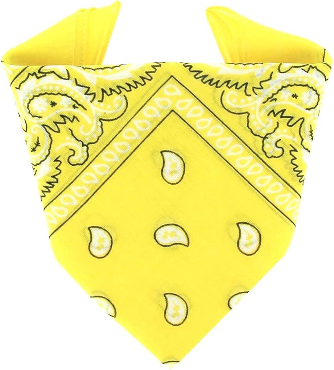 ...KARL LOVEN - Bandana 100% algodón - Paisley - Pañuelo para el cuello, cabeza bufanda para hombre, mujer y niño muñeca Pulsera motociclista ...