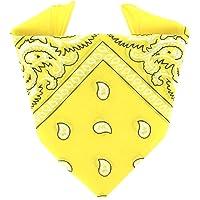 ...KARL LOVEN - Bandana 100% algodón - Paisley - Pañuelo para el cuello, cabeza bufanda para hombre, mujer y niño muñeca…
