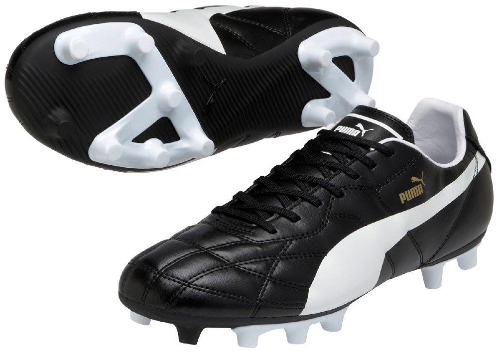 Puma Classico FG Leichte TPU Außensohle Entry Level Fußball Stiefel aus Leder