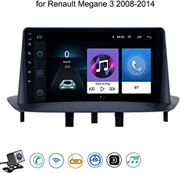 Android 8.1 Quad Core GPS Navegador Coche para Renault Megane 3 2008-2014 - FM Am Radio del Coche, Conexión a Internet WiFi/BT, Soporte DVR USB/Llamadas Manos Libres,4g+WiFi: 1+16 GB: Amazon.es: Deportes y