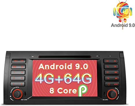 1080P 9/'/' Android 8.1 Car SUV Stereo Radio Player 2Din GPS Navigation Wifi 3G 4G