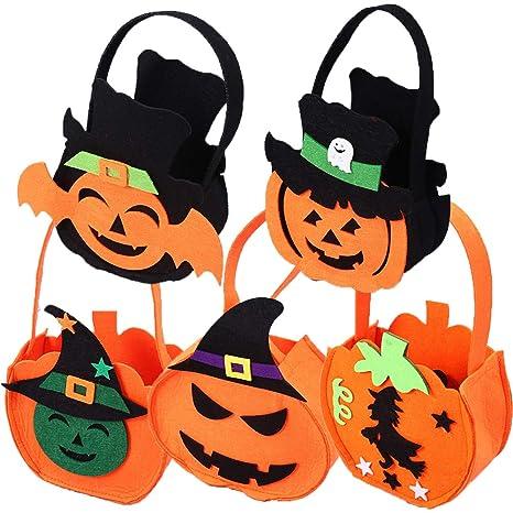 KAISHANE Bolsas de Halloween Bolsas de calabaza Truco o ...