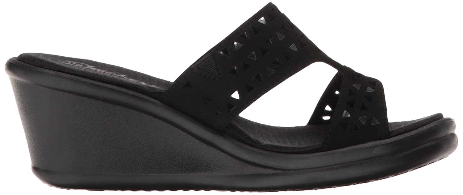 De Skechers Cali Rumblers Vrouwen Wedge Sandals uWOVE1TXHa