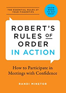 Roberts rules of order newly revised roberts rules of order roberts rules of order in action how to participate in meetings with confidence fandeluxe Image collections
