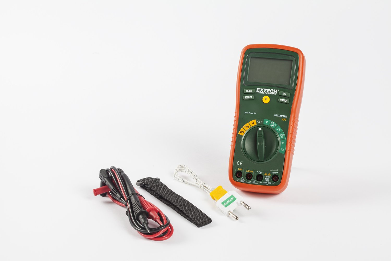 Extech EX420 Professional 11 Function MultiMeter by Extech (Image #3)