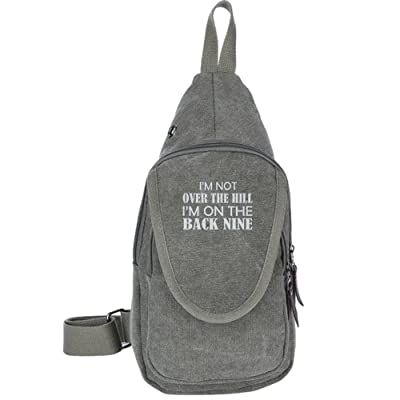 4b291f3043f7 ... Nine Fashion Men s Bosom Bag Cross Body New Style Men Canvas Chest Bags.  hot sale 2017 I m Not Over The Hill I m On The Back