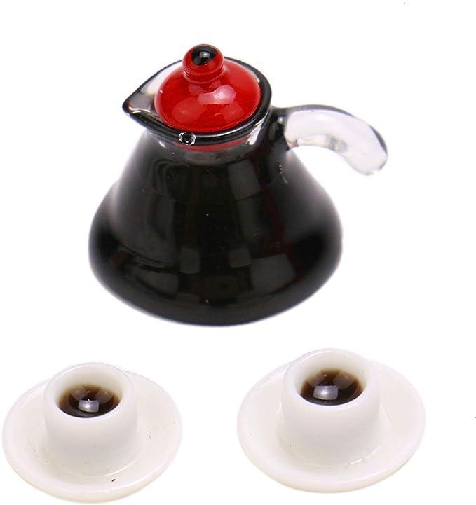 1//12 Dollhouse Miniature Accessories decoration Mini coffee Cup Drink Model JQ