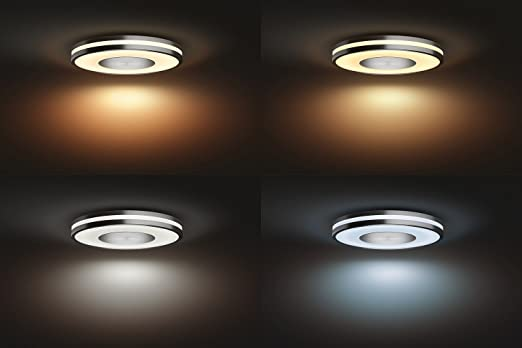 Plafoniere Quadrate Philips : Philips lighting plafoniera p hue being lampada da