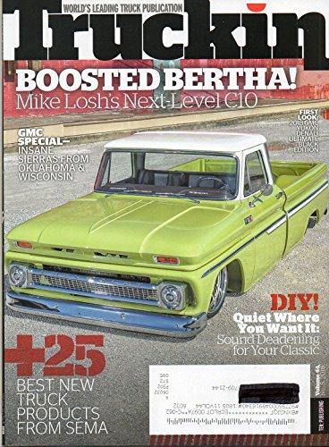 BEST NEW TRUCK PRODUCTS FROM SEMA Vol 44 No.5 2018 Truckin Magazine World's Leading Truck Publication GMC SPECIAL: INSANE SIERRAS FROM OKLAHOMA & WISCONSIN 2018 Yukon Denali Ultimate Black Edition