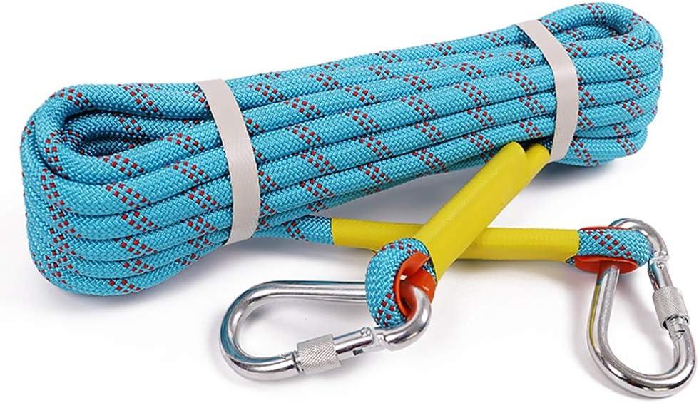 YIN YIN Equipo al aire libre Cuerda de seguridad, 10mm / 10 ...