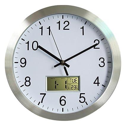 YAHAMA Radio Reloj de pared grande Radio Reloj Reloj de pared según los Radio Reloj con