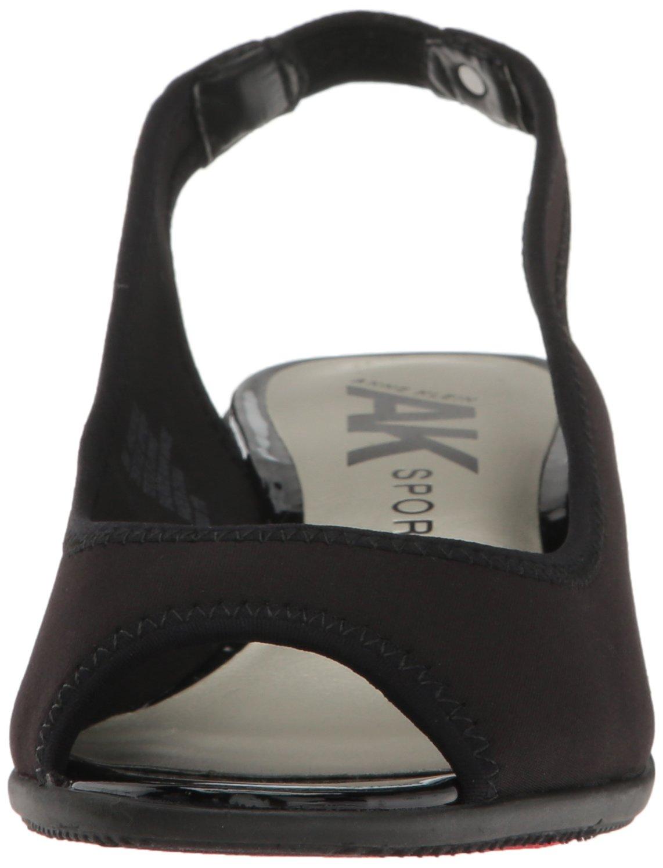 Anne Klein AK Sport Women's Jayla Fabric Wedge Pump B01N44NO0D 10.5 B(M) US|Black