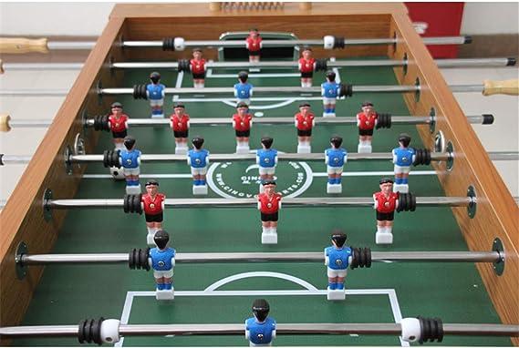 Fútbol de Mesa Grande Futbolín de Madera, Profesional para Competiciones Individuales o Juegos de Grupo con 4 pelotas de fútbol Seguros y Pesados Jugar Deportes Diversión Regalos 142 * 78 * 86