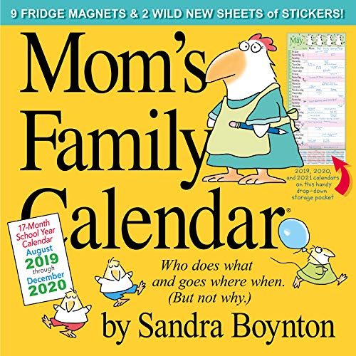 Mom Wall - Mom's Family Wall Calendar 2020