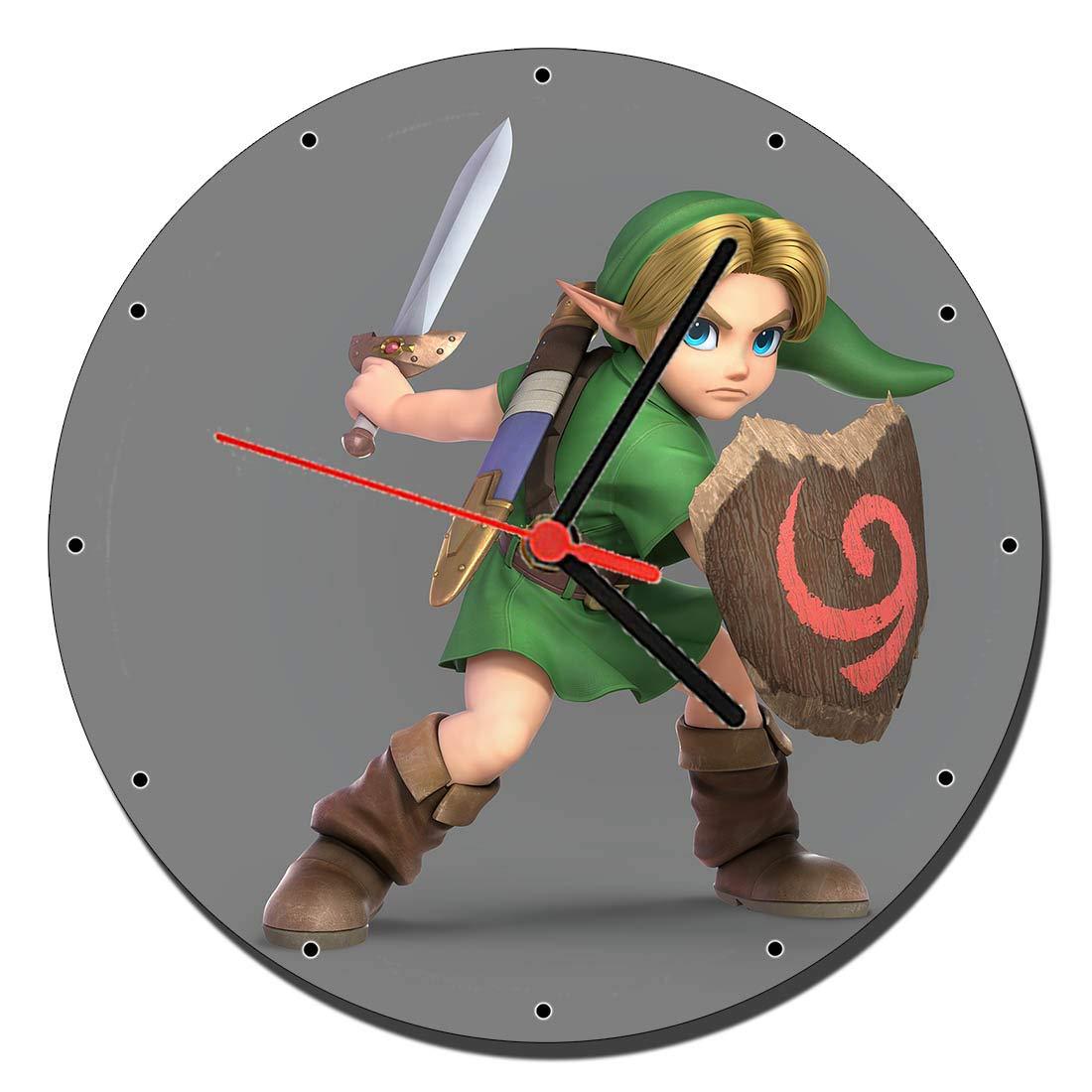 MasTazas Young Link Super Smash Bros Ultimate Reloj de Pared ...