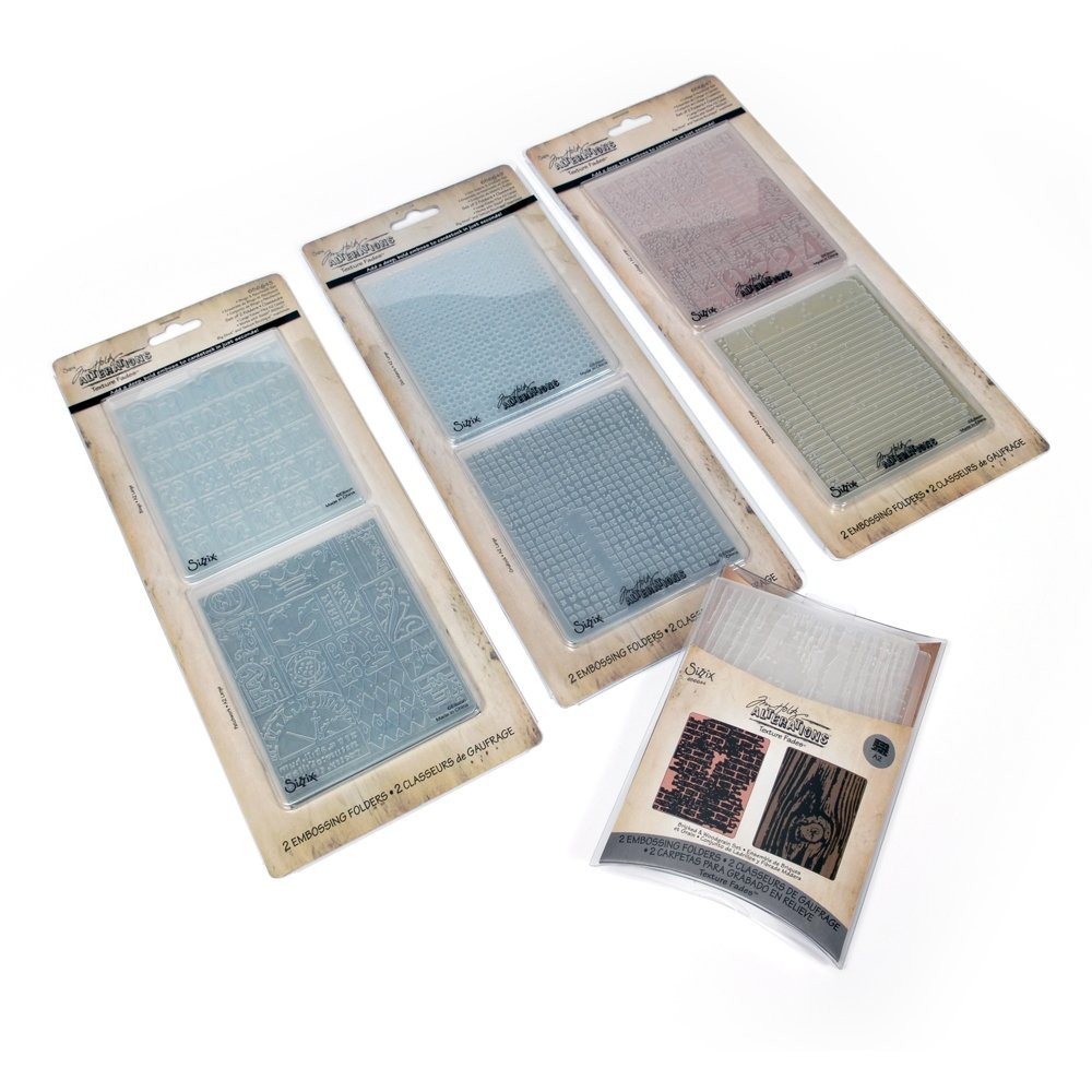 Amazon.com Exclusive: Sizzix Tim Holtz Texture Fades Kit #1