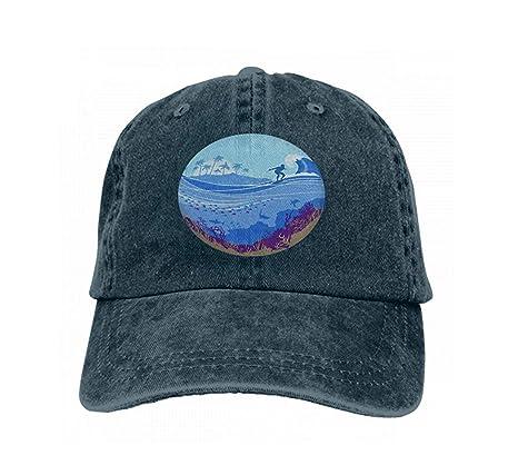 Reghhi Gorras de béisbol de Rejilla para Adultos Sombrero de ...