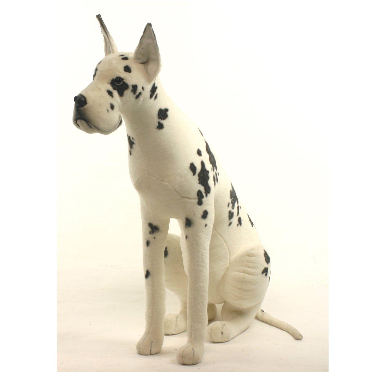 Hansa 3762 Soft Harlequin Dog Toy Marble - 47 in. H